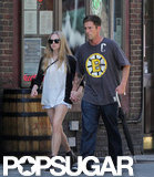 Amanda Seyfried walked with Desmond Harrington in NYC.