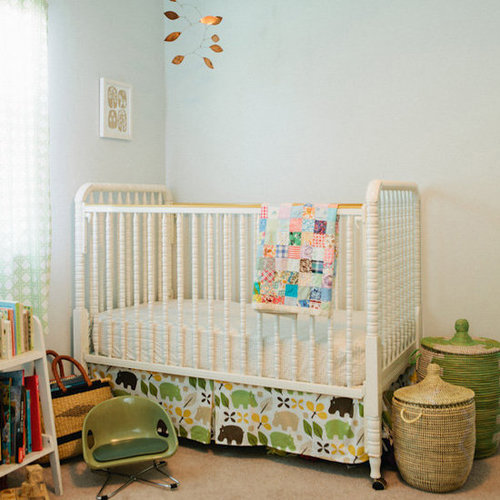 Modern Vintage Shared Kids Room