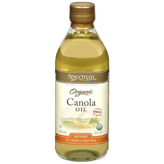 canola oil baking