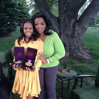 Gabby Douglas Oprah Interview on Bullying