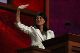 Nikki Haley Makes Her Debut