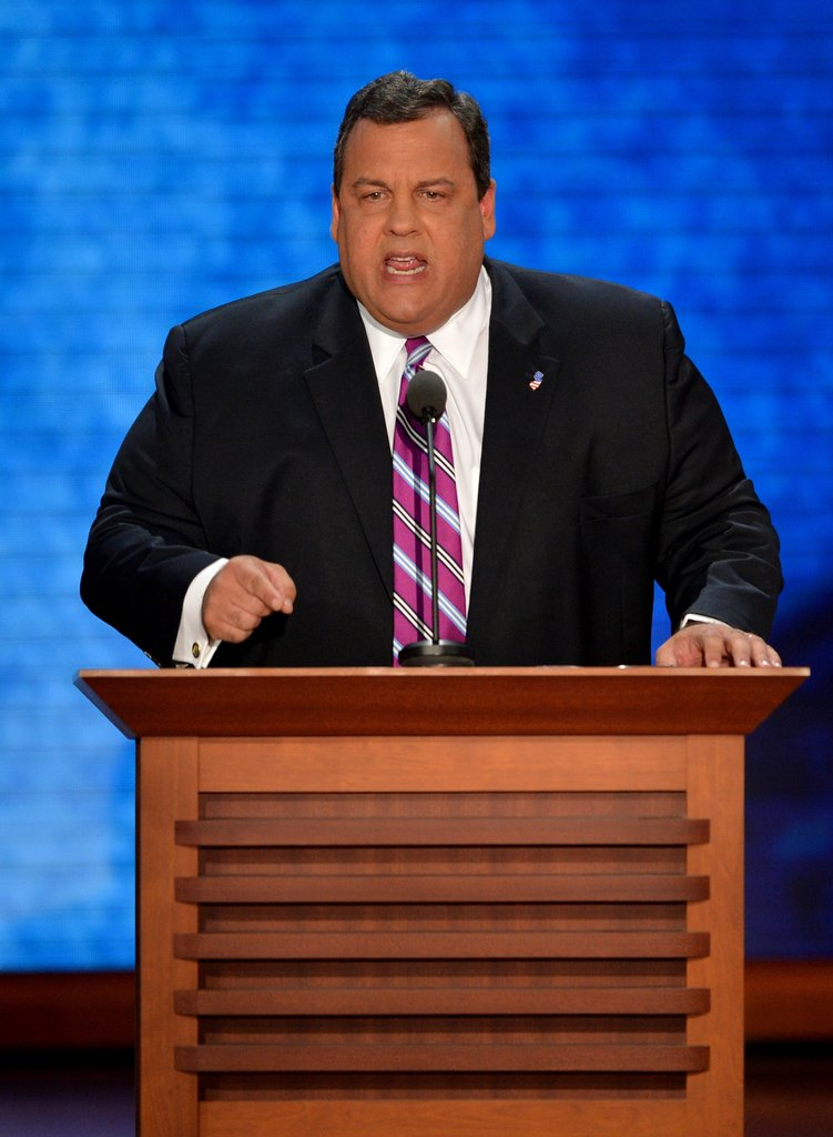 Chris Christie Brings the Heat