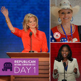 Day 1 on the Scene at the RNC: Ann Romney, Jon Voight and More Stump for Mitt