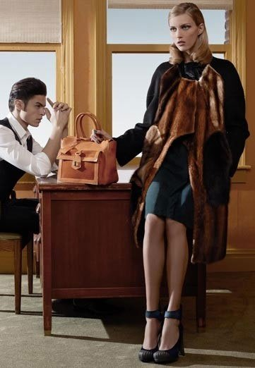 Fendi Ad Campaign, Fall 2010