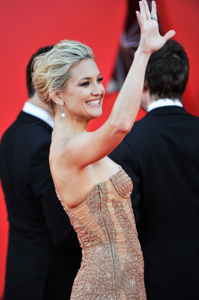 Kate Hudson Glows in Venice With Matthew by Her Side