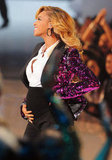 Beyoncé Knowles revealed she was pregnant at the 2011 show during her performance.