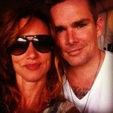 Juliette Lewis met up with Mark McGrath. Source: Twitter user JulietteLewis