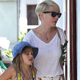 Your Closet Needs Fresh Printed Trousers Like Michelle Williams's