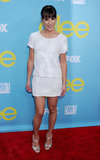 Lea looked sweet in a white minidress by Jenni Kayne in 2012.