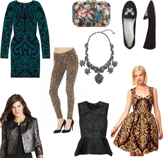 Fall Fashion Trends 2012 Go For Baroque Stylebakery