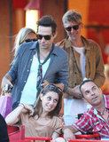 Kate Moss and Jamie Hince were out and about in Saint-Tropez.
