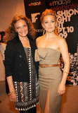 Kate Hudson posed with Diane von Furstenberg at the US Vogue pop-up boutique at Macy's in 2009.