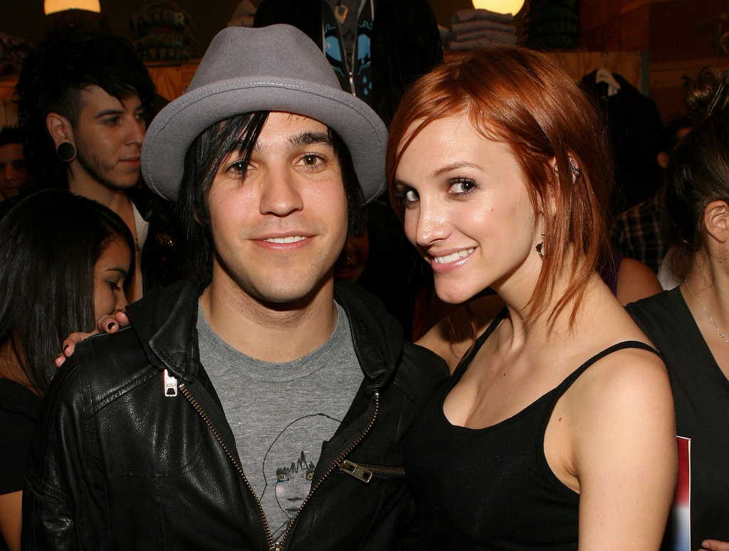 Ashlee Simpson and Pete Wentz attended a Fred Segal event together in 2009.