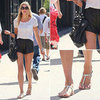Jessica Hart Street Style | August 30, 2012