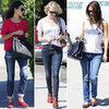 Red Shoe Trend Fall 2012