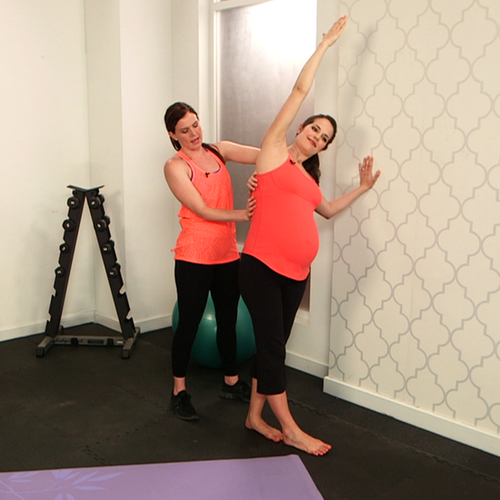 5 Pilates Moves For Pregnancy