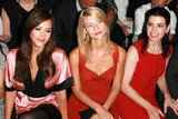 Jessica Alba, Claire Danes, and Julianna Margulies were in NYC for Narciso Rodriguez in September 2008.