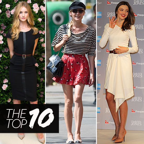 Rosie, Miranda, and Diane Take Top Spots in This Week's Style Set