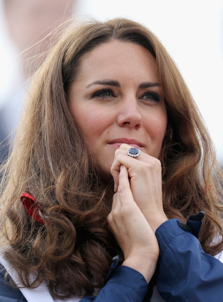 Kate Middleton Cheers Team GB to a Paralympic Rowing Win