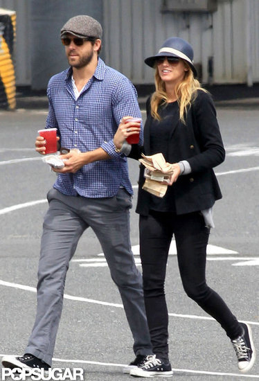 Blake Lively and Ryan Reynolds visited his family in Canada in May 2012.