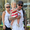 Pink and Carey Hart in Paris With Willow | Pictures