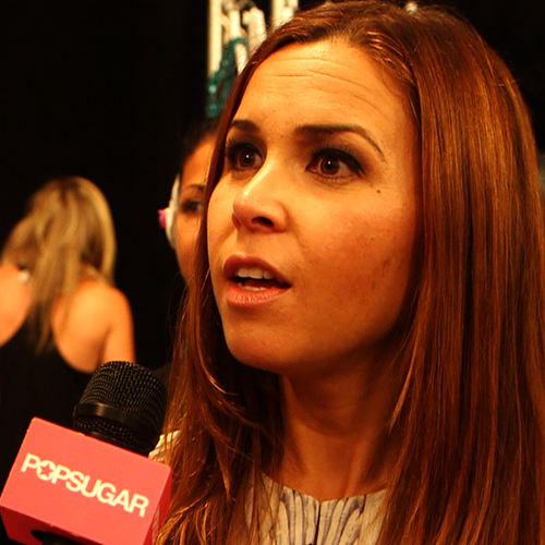 Monique Lhuillier Fashion Week Interview (Video)