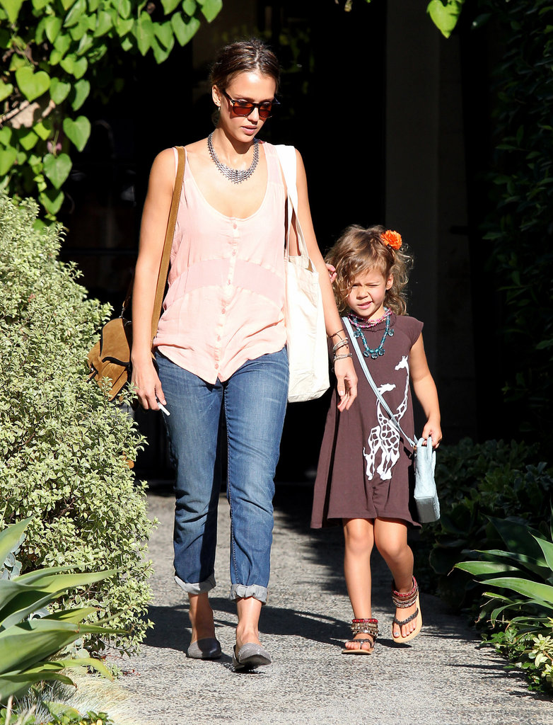 Jessica Alba and Honor Warren spent the day together in LA.