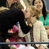 Nicole Kidman and Keith Urban Kiss Pictures at 2012 US Open