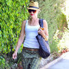 Gwen Stefani Wearing Plaid Pants