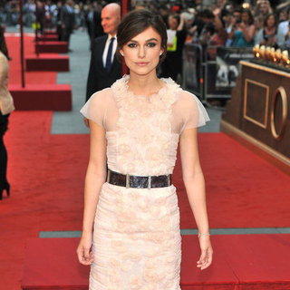 Keira Knightley at Anna Karenina London Premiere