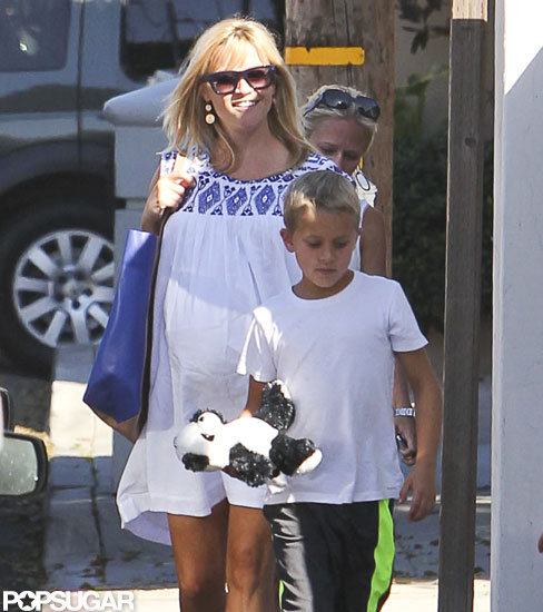 Reese Witherspoon took son Deacon out in LA.