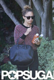 Nicole Richie was spotted in LA running errands.