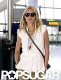 Gwyneth Paltrow headed out of London.