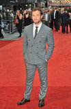 Jude Law hit the red carpet in London looking stylish.