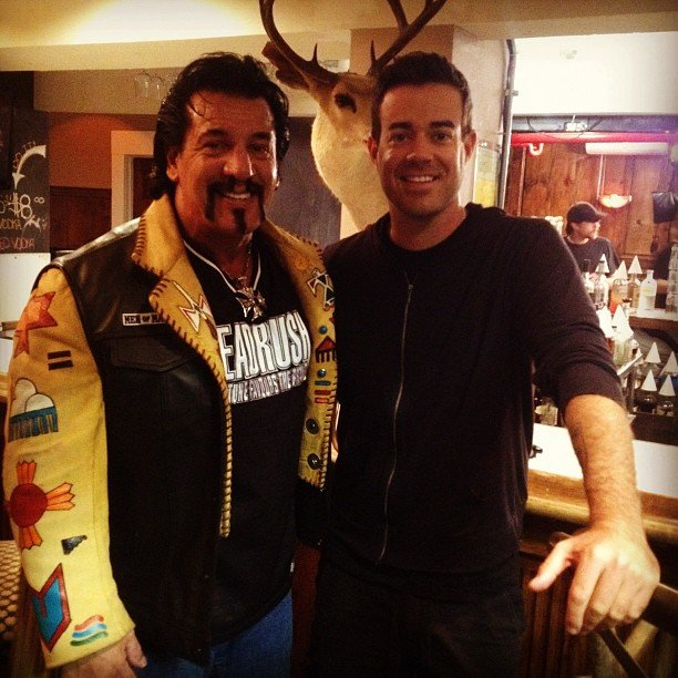 Carson Daly interviewed Chuck Zito. Source: Instagram user carsondaly