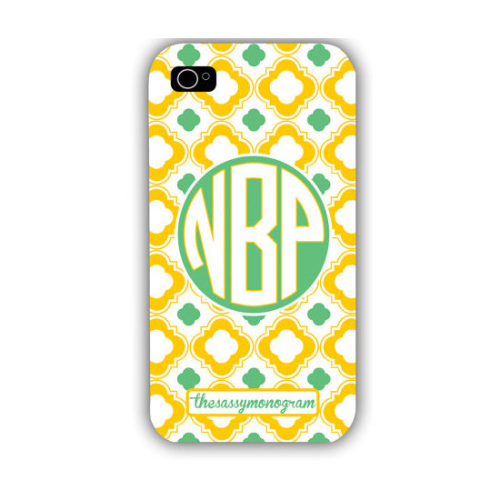 Lattice Print iPhone Case ($18)