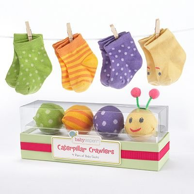 Baby Aspen Caterpillar Crawlers ($19)