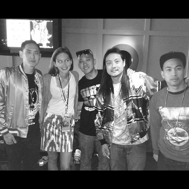 TrèsSugar editor Annie Scudder hung with Far East Movement during a Rock the Vote event on Tuesday.
