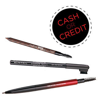 Cash or Credit: Eyebrow Pencils With Spool Brushes on Every Budget