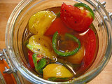 Spicy Pickled Tomatoes