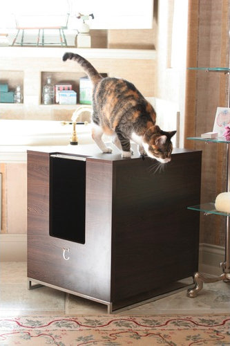 Modern Cat Designs Hider Cat Litter Box ($250)