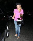 Diane Kruger Makes a Bright Sight During a Night Out in LA