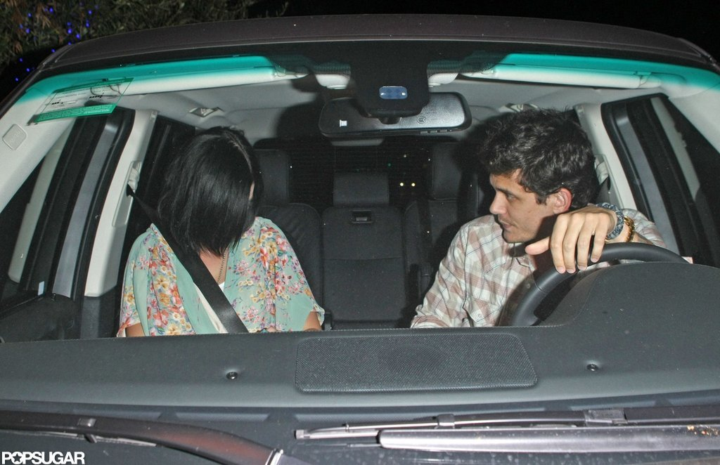 Katy Perry and John Mayer enjoyed a dinner date in LA.