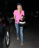 Diane Kruger dined in LA.