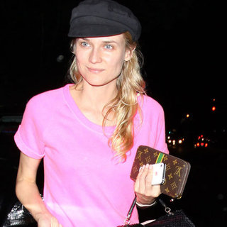 Diane Kruger Wears Bright Pink | Pictures