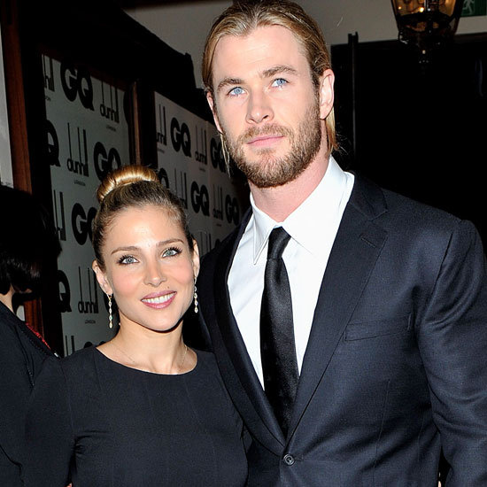 Chris Hemsworth and Elsa Pataky at GQ Men of the Year Awards