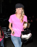 Diane Kruger went to Little Dom's.