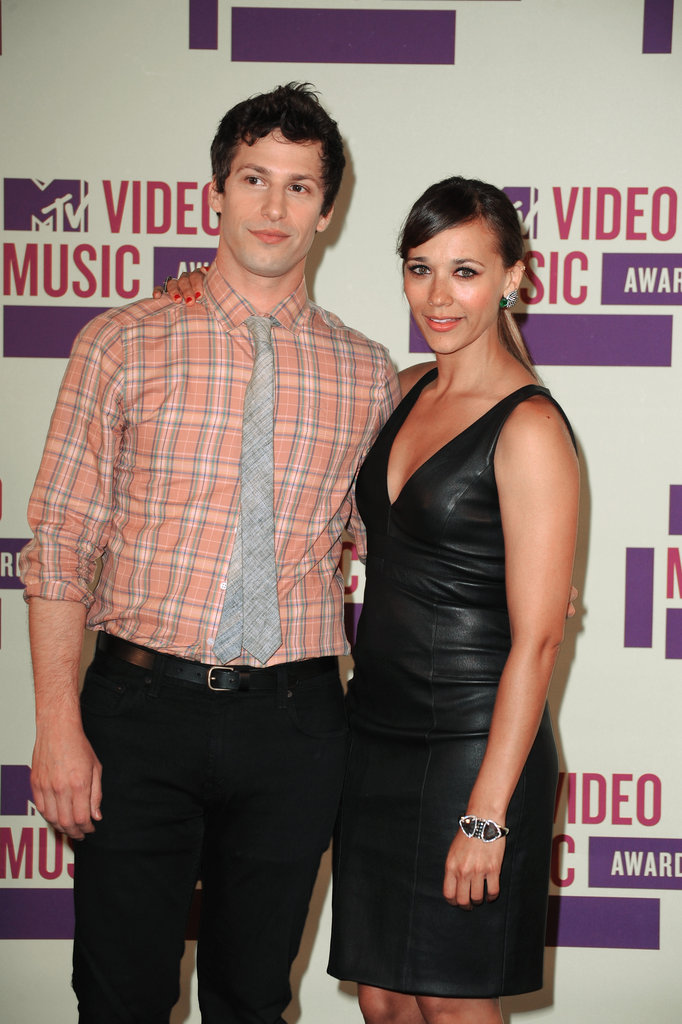 Andy Samberg and Rashida Jones