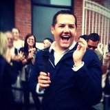 Funny guy Ross Mathews covered the Target party in NYC.  Source: Instagram user targetstyle