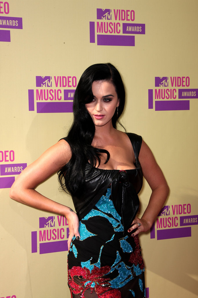 Katy Perry struck a pose at the 2012 MTV VMAs.